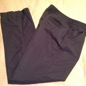 Marmot Women's Lobos Roll Up Gray Pant/Capri SZ 8